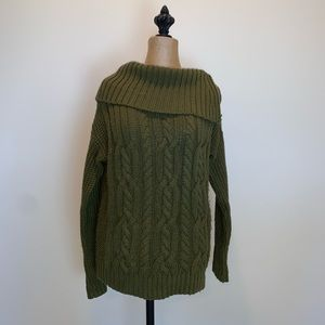 Side button sweater #3447